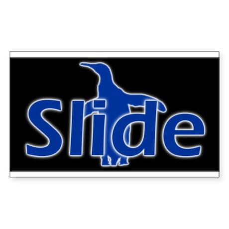 Slide Rectangle Sticker