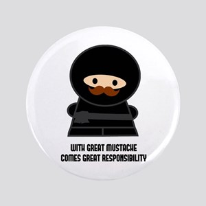 "Great Responsibility Ninja 3.5"" Button"
