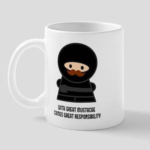 Great Responsibility Ninja Mugs
