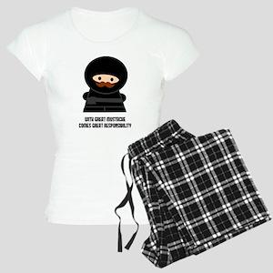 Great Responsibility Ninja Pajamas