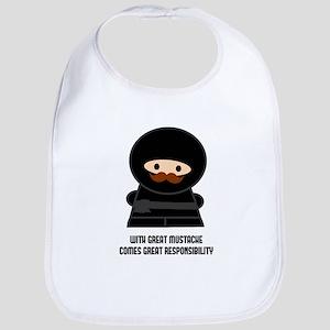 Great Responsibility Ninja Bib
