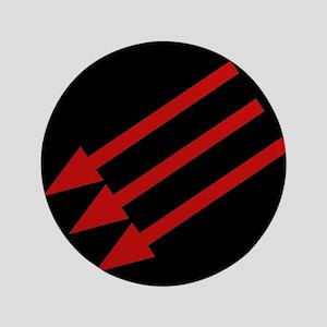 "Anti-Fascism Symbol AntiFa 3.5"" Button"