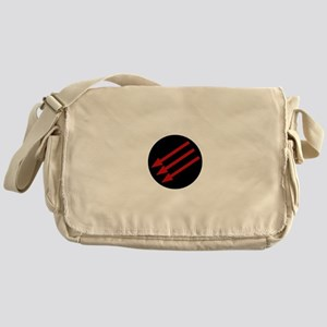 Anti-Fascism Symbol AntiFa Messenger Bag