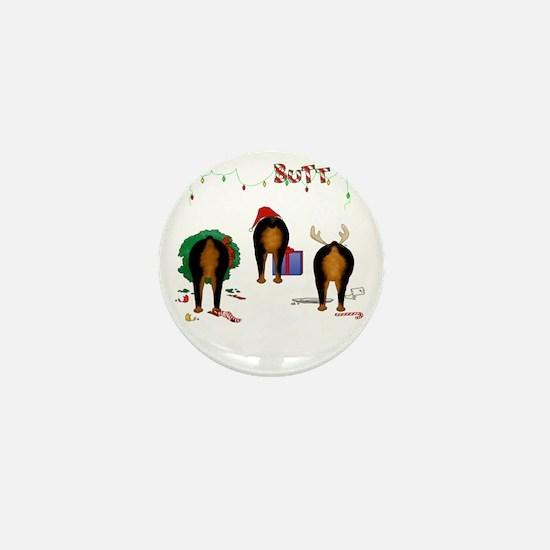 RottieShirtTrans Mini Button