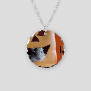 DEGU  OCT 7.5x5.5_gcard Necklace Circle Charm