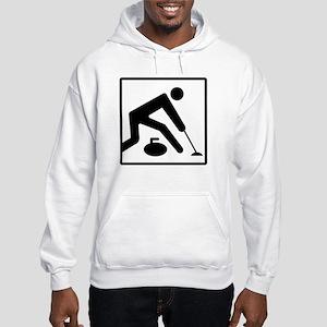 Curling Logo Hooded Sweatshirt