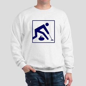 Curling Logo Sweatshirt