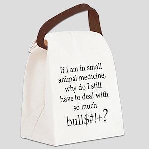 bullsheet Canvas Lunch Bag