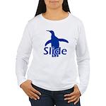 Slide Women's Long Sleeve T-Shirt