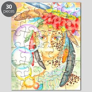 Jaguar Woman Puzzle