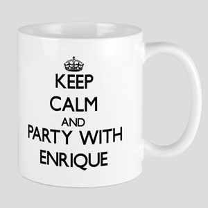 Keep Calm and Party with Enrique Mugs