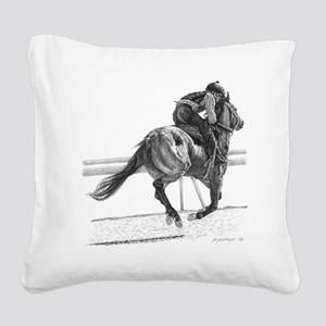 Sheck Square Canvas Pillow