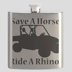 Save Horse BLACK Flask