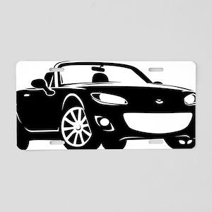 NC2 black Aluminum License Plate