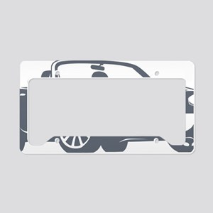 NC2 gray License Plate Holder