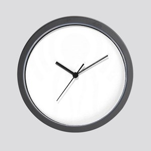 hp-podcast-logo-washout-black white Wall Clock