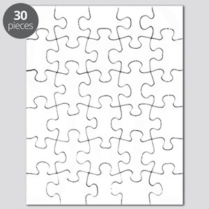 hp-podcast-logo-washout-black white Puzzle