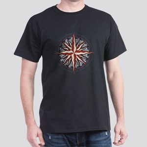 compass-rose4-LTT Dark T-Shirt