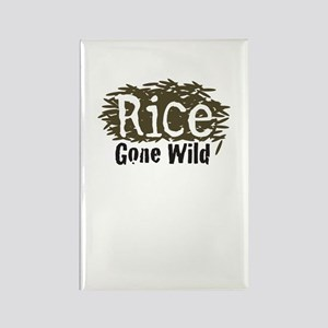 Wild Rice Rectangle Magnet (100 pack)