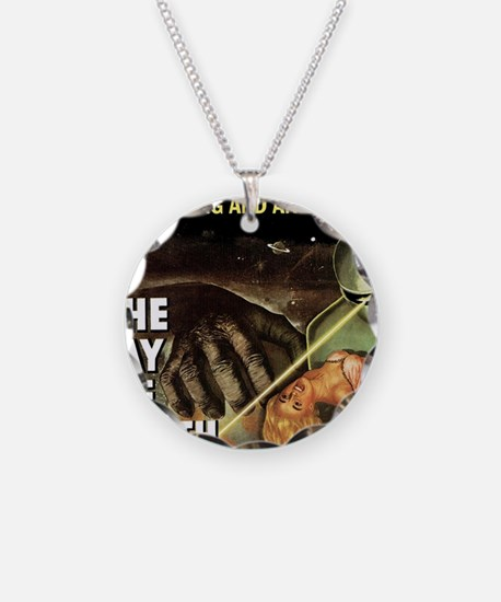The Day the Earth Stood Stil Necklace