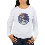 Earth Women's Long Sleeve T-Shirt