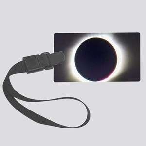 Solar eclipse 2017 Large Luggage Tag