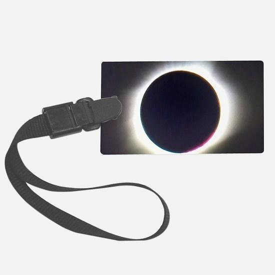 Solar eclipse 2017 Luggage Tag