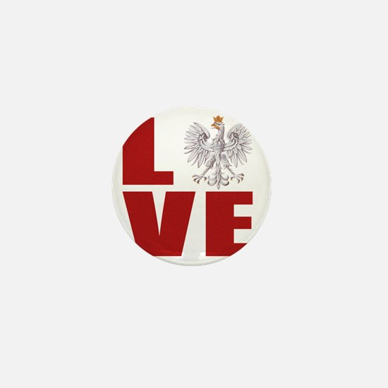 polish love Mini Button