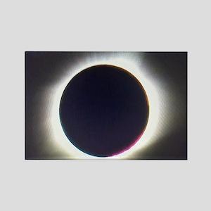 Solar eclipse 2017 Rectangle Magnet