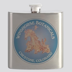 Windhorse Botanicals 10 Circle Label Flask