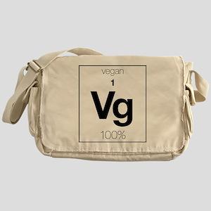 VforVeganElementGraphic Messenger Bag