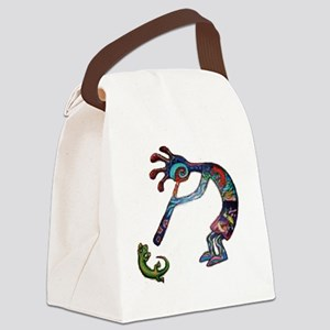 Kokopelli_0315 Canvas Lunch Bag