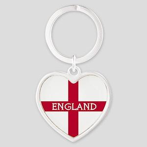 KB English Flag -  English Knight Heart Keychain