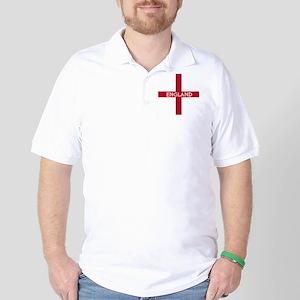 KB English Flag -  English Knight Golf Shirt