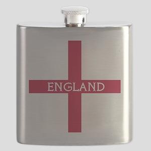 KB English Flag -  English Knight Flask