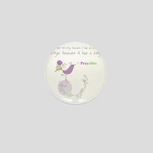 Bird Song Prayables Mini Button