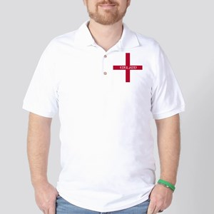 KB English Flag - England Perl Golf Shirt