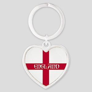 KB English Flag - England Perl Heart Keychain