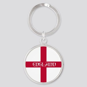 KB English Flag - England Perl Round Keychain
