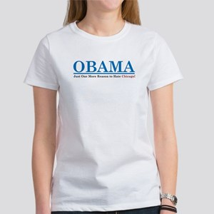 Obama- Chicago Women's T-Shirt