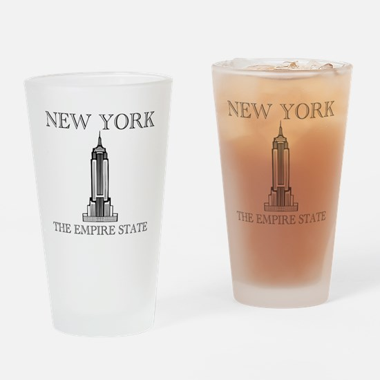 NEW YORK EMPIRE STATE Drinking Glass