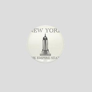 NEW YORK EMPIRE STATE Mini Button