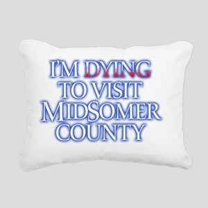 2-MidS-dying Rectangular Canvas Pillow