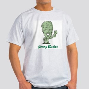 Jimmy Carter Peanut Ash Grey T-Shirt