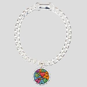 make-love-col-T Charm Bracelet, One Charm