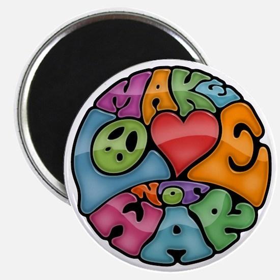 make-love-col-T Magnet
