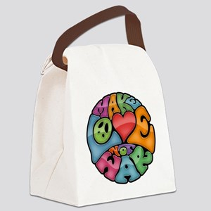 make-love-col-T Canvas Lunch Bag