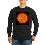 Sun Long Sleeve Dark T-Shirt