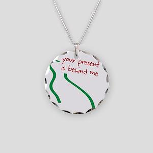 behindmeDrk-1 Necklace Circle Charm