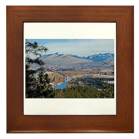 Missoula Valley Framed Tile